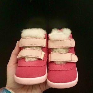 44887eee878 UGG Baby Pritchard Chukka Boot Pink NWT